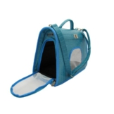 Wolters Transporttasche KellyDog azur Hunde Transporttasche Hundetransporttasche Hundebox Hundetasche Chihuahua 35x25x15cm - 1