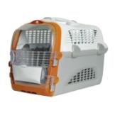 Catit Transportbox Pet Cargo Cabrio - weiß-grau-orange