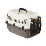 Kerbl Transportbox Expedia aus Kunststoff - Taupe/Creme