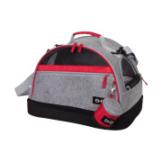 Nobby | Tasche VANCOUVER 3 in 1 grau / rot / schwarz | L 44 x B 31 x H 30 cm